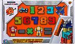 Робот, трансформер  1 Toy  Трансботы ``Боевой расчет`` (10 цифр, 5 знаков)Т16428