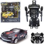 Робот, трансформер  1 Toy  на р/у 2,4GHz, ``Muscle car``, чёрный