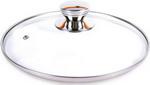 крышка  TimA  с круглой НЖС ручкой с метал/обод 28 см низ.(5728)