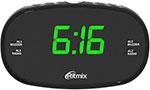 Радиоприемник и радиочасы  Ritmix  RRC-616 BLACK