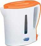 Чайник электрический  Великие реки  Мая-1 бело-оранжевый