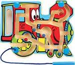 Деревянная игрушка  Hape  E1701_HP Паровоз
