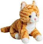 Мягкая игрушка  Molli  7949SW_MT Кот рыжий 20 см
