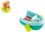 Игрушка для купания  Hape  E0217_HP Мишка на тюбинге