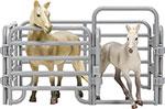 Сюжетно-ролевая игра  Masai Mara  MM204-001 серии ``Мир лошадей``. Арабская лошадь и жеребенок