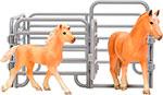 Сюжетно-ролевая игра  Masai Mara  MM204-005 серии ``Мир лошадей``. Авелинская лошадь и жеребенок