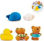 Игрушка для купания  Hape  E0201_HP Тедди и его друзья
