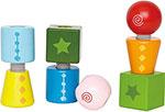Деревянная игрушка  Hape  E0416_HP Закручивающиеся кубики