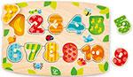 Деревянная игрушка  Hape  E1404_HP Цифры