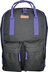 Рюкзак и термосумка  Silwerhof  Cube черный/фиолетовый