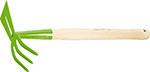 Инструмент для обработки почвы  Сибртех  комбинированная, 75х380 мм, стальная, деревянная рукоятка