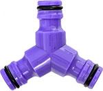 Адаптор, соединитель и штуцер  Palisad  Тройник для разветвления или соединения, штуцерный