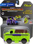Транспорт  1 Toy  Transcar Double: Лесовоз – Автовоз, 8 см, блистер
