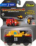 Транспорт  1 Toy  Transcar Double: Погрузчик – Пожарная машина, 8 см, блистер