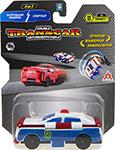 Транспорт  1 Toy  Transcar Double: Патрульная машина – Спорткар, 8 см, блистер