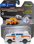 Транспорт  1 Toy  Transcar Double: Скорая помощь – Кроссовер, 8 см, блистер