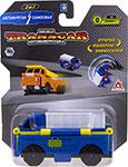 Транспорт  1 Toy  Transcar Double: Автофургон – Самосвал, 8 см, блистер