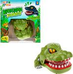 Настольная развивающая и обучающая игра  1 Toy  ИГРОДРОМ ``Крокодил укусил?`` в кор.16,5*17,5*9см
