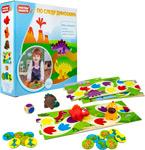 Настольная развивающая и обучающая игра  1 Toy  Растем вместе ``По следу динозавра`` в кор.22*22*6см