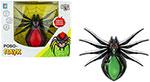 Радиоуправляемая игрушка  1 Toy  Робо-паук (свет, звук, движение), коробка 30*23*10 см, 3 *1,5 В АА (в комп не вход), чер- зеленый