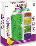 Товар для творчества  1 Toy  Plastic Fantastic ``Фрукты`` Т20215