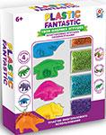 Товар для творчества  1 Toy  Plastic Fantastic ``Динозавры`` Т20216