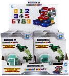 Робот, трансформер  1 Toy  М (цифры 0-9 микс) Т19440