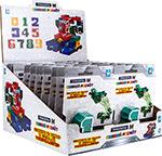 Робот, трансформер  1 Toy  М, (10 цифр микс)