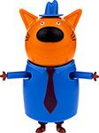 Интерактивная и развивающая игрушка  1 Toy  Три кота - Папа 8,8 см