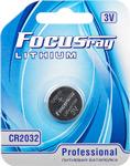 Батарейка, аккумулятор и зарядное устройство  FOCUSray  CR2032