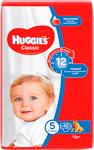 Подгузник  Huggies  Classic/Soft&Dry Дышащие 5 размер (11-25 кг) 42 шт. new design