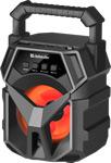 Акустическая система и док-станция  Defender  G98 5Вт, Light/BT/FM/TF/USB/AUX